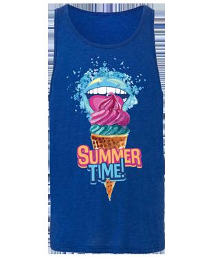 Summer Time - Unisex Jersey Tank Top