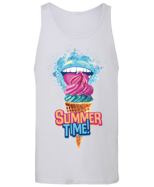 Summer Time - Unisex Jersey Tank Top