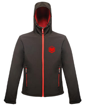 TBE - Hooded Soft Shell Jacket