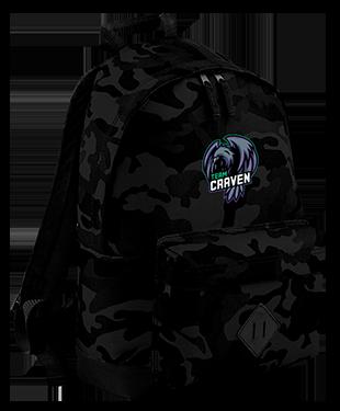 Team Craven - Camo Backpack