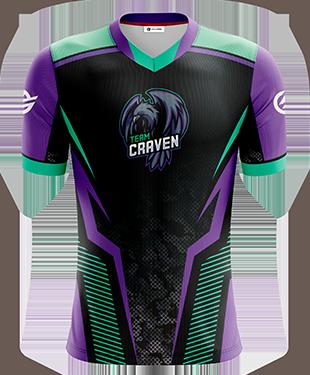 Team Craven - Short Sleeve Esports Jersey