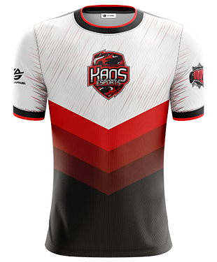 KaoS Esports - Official Short Sleeve Jersey - White