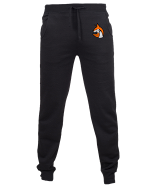 TeqR - Slim Cuffed Jogging Bottoms