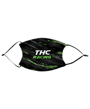THC RACING - Adult Face Mask