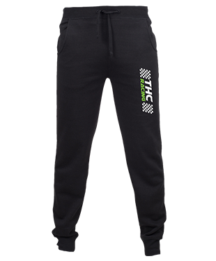 THC RACING - Slim Cuffed Jogging Bottoms
