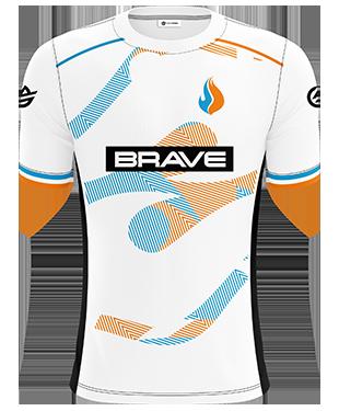 The Brave Jnr - Pro Short Sleeve Esports Jersey