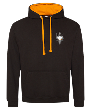 Team Penguin Overlords - Contrast Hoodie