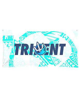 Trident - Wall Flag