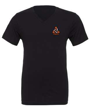 Triquetra Gaming - Unisex V-Neck T-Shirt