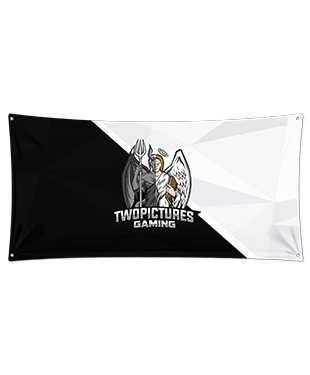 TwoPictures Gaming - Wall Flag