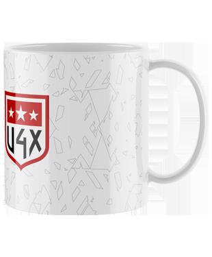 U4X - Mug with Coloured Inner & Handle