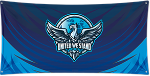 United We Stand - Wall Flag