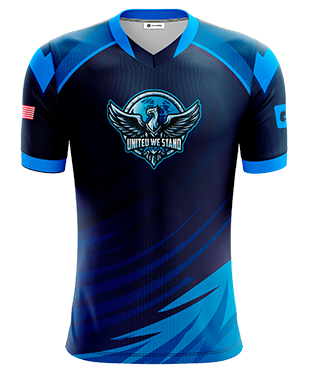 United We Stand - Short Sleeve Esports Jersey