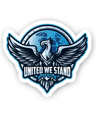 United We Stand - Sticker Pack (3 x Stickers)