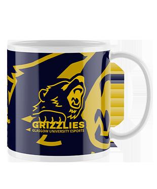University of Glasgow - Grizzlies - Mug