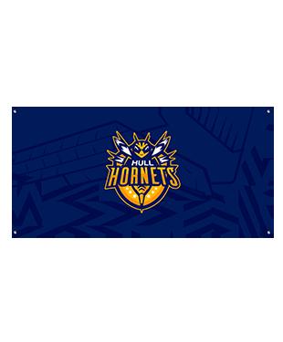Hull Hornets - Wall Flag
