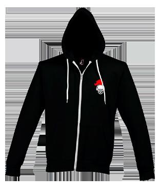 University of Reading - Unisex Silver Hooded Jacket