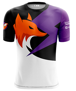 LightFoxVG - Short Sleeve Esports Jersey