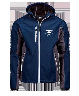 Virtual Steel - Lightweight Performance Hooded Soft Shell Jacket