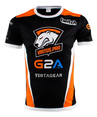 Virtus Pro - 2018 Player Jersey - Sponsor Edition - Gamers