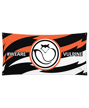 Vulpine Esports - Wall Flag