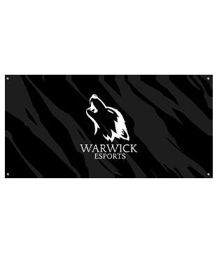 Warwick Esports - Wall Flag