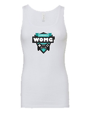 WOMG - Sheer Rib Longer Length Tank Top