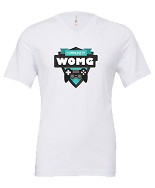 WOMG - Unisex V-Neck T-Shirt