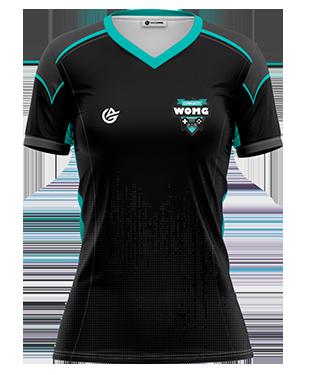 WOMG - Short Sleeve Esports Jersey