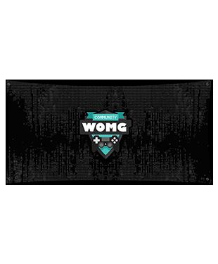 WOMG - Wall Flag