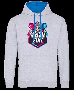 Zinc Esports - Contrast Hoodie