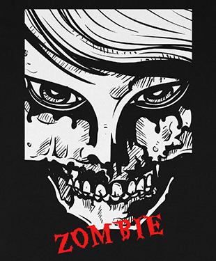 Zombie - Organic T-Shirt